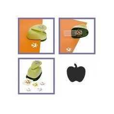 Mini perforatore craft punch a leva : forma di mela