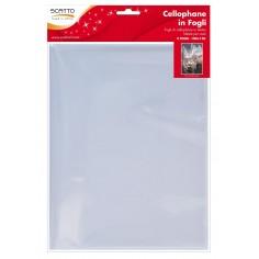 Cellophane trasparente per confezionamento - blister 2 fogli