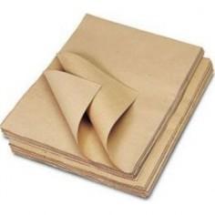 Carta da imballo avana - 2 pezzi