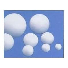 Sfere palline in polistirolo piene da 38mm - 50 pezzi