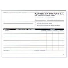 Blocco documento di trasporto tentata vendita 15x23 - 2 copie  - 50 moduli
