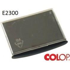Tampone cuscinetto per timbro Colop e2300 nero - S300/S360/2200
