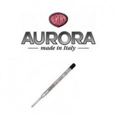 Aurora Refill a sfera nero Ballpoint - lunga durata - ricarica punta M