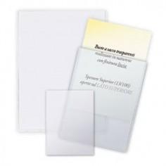 Buste ad U trasparenti formato 22x30 - spessore alto
