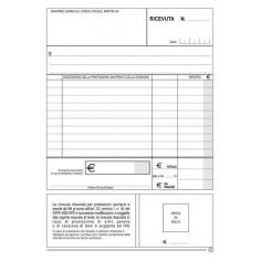 Blocco ricevute sanitaria 50 moduli a 2 copie non numerate