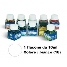 Inchiostro di china bianco (18) pelikan - flacone da 10ml