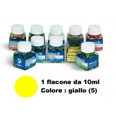 Inchiostro di china verde giallo (5) pelikan - flacone da 10ml