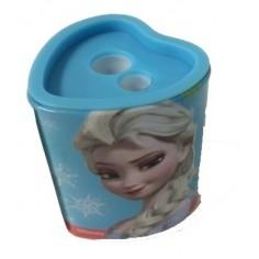 Temperino con serbatoio Frozen a 2 fori - temperamatite con contenitore