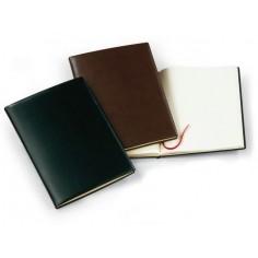 Libro eventi in sintetico liscio per matrimoni, riunioni ed eventi importanti - 21x29,7 marrone