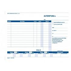 Autofattura 2 copie autoric 15x21 - 2 pezzi