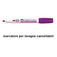 Marcatore per lavagna cancellabile punta M colore viola