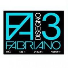Album Tecnico Fabriano F3 - 24x33 - nero