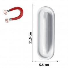 Cancellino magnetico in feltro con manico rettangolare per lavagne cancellabili  11x5