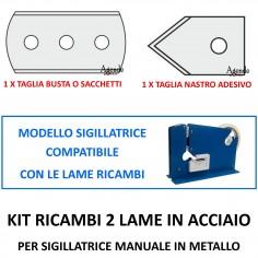 Lame ricambio per sigillatrice manuale in metallo