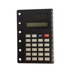 Calcolatrice e righello per agenda organizer 7x12 doppia alimentazione