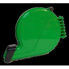 Dispenser ticket eliminacode chiocciola VERDE dispenser etichette numerate coda rondine