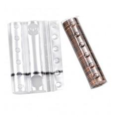 Blister in plastica per monete da 2 cent  (20 pezzi) contenitori monete