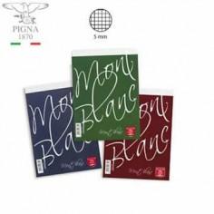 Blocco notes 8x12 MontBlanc Pigna (10 pezzi) A7 quadri 5 mm