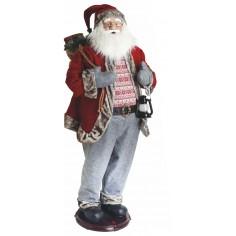 Babbo Natale DANCE balla e canta ( 8 melodie ) alto ben 152 cm