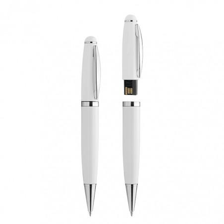 Penna a sfera e pen drive USB da 4GB  ( 1 pezzo ) penna a memoria digitale