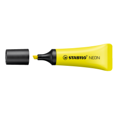 Evidenziatore Stabilo neon giallo