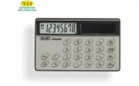 Calcolatrice carta di credito 8 cifre senza tasti e solare 8x5 cm