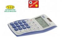 Calcolatrice tascabile colorata a 8 cifre 11x7 vari colori