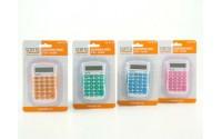 Calcolatrice tascabile Scatto mini ( 1 pezzo ) a 8 cifre 9x5 vari colori
