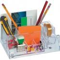 Portaoggetti Porta penne BIG in acrilico trasparente organizza scrivania