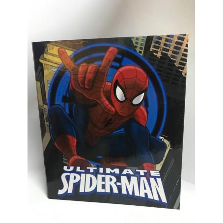 Spiderman the amazing   Raccoglitore 4 anelli - diametro 3- blu
