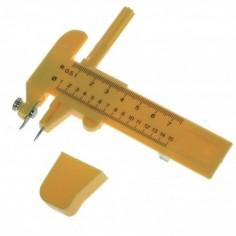 Cutter taglierino per tagli circolari con lame di ricambio . cutter a compasso