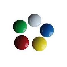 Bottoni magnetici per lavagna cancellabile ( 20 pezzi ) assortiti