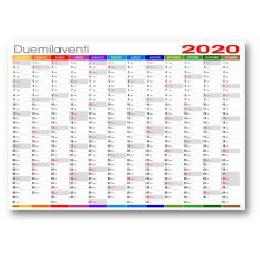 Calendario 2020 Mensile Da Stampare.Calendari