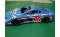 Carrozzeria NASCAR in lexan trasparente X-FORM 1/28 ( non verniciata) per Miniz Atomic GL Racing Wl Toys