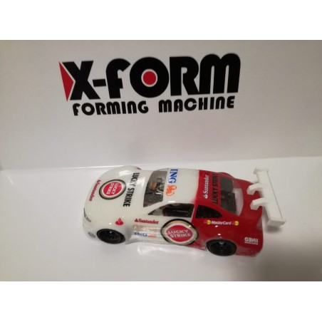 Carrozzeria DTM in lexan trasparente X-FORM 1/28 ( non verniciata) per Miniz Atomic GL Racing Wl Toys