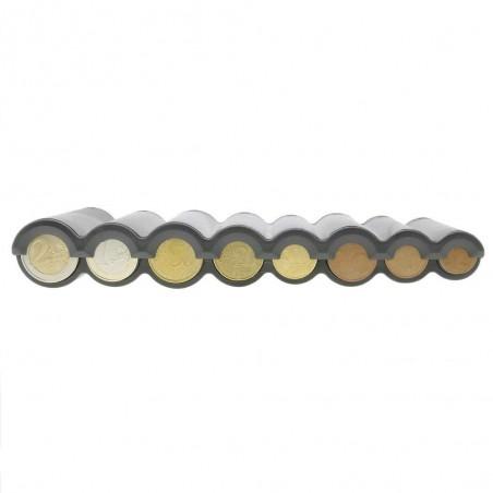 Blister in plastica per monete da 1 euro (20 pezzi) contenitori monete
