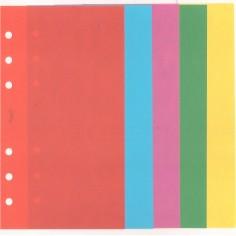 Ricambio fogli Vuoti COLORI 9,5x170 ( 50 fogli ) per agenda organizer