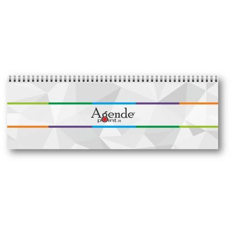 Planning Agenda Da Tavolo 2021 Settimanale Spiralato Con Note Ed Appunti Vari Ebay