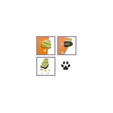 Mini perforatore craft punch a leva : forma di orma gatto