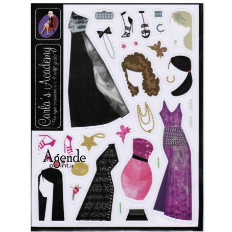 HAIRSTYLE & LOOK 2 stickers di ricambio - Gozzi Carla's accademy