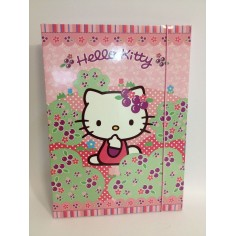 Hello Kitty - rosa - carpetta con elastico