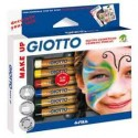 Matite cosmetiche per viso Giotto make up - 6 pastelli