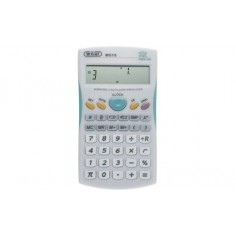 Calcolatrice scientifica con funzione frazioni - bianca