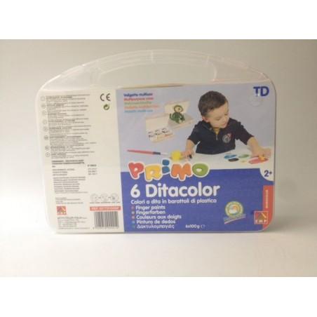 TEMPERE DITA CMP Primo in valigetta 6 colori in barattolo 100 g + accessori