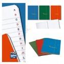 Rubrica A5 formato quaderno - monocolore