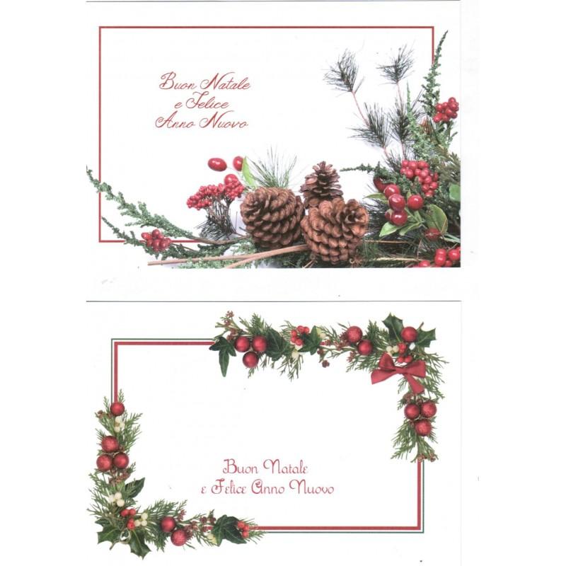 Auguri Matrimonio Via Mail : Biglietti auguri monofaccia buon natale e felice anno