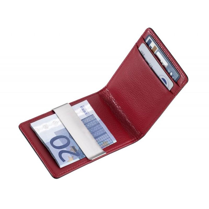 bcabd104ad8305 ... TROIKA - Porta carte di credito con clip soldi - RED PEPPER