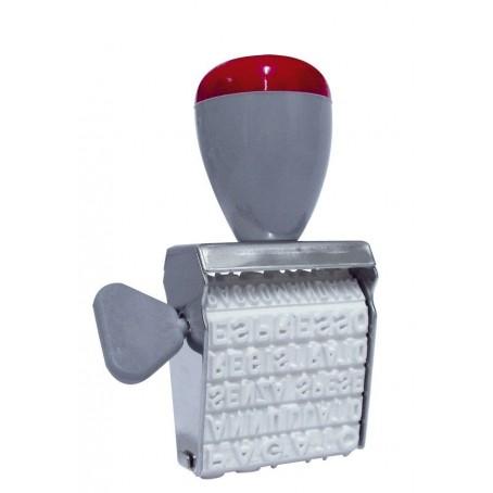Tampone per timbri 12X8 colore NERO scuola ufficio cancelleria