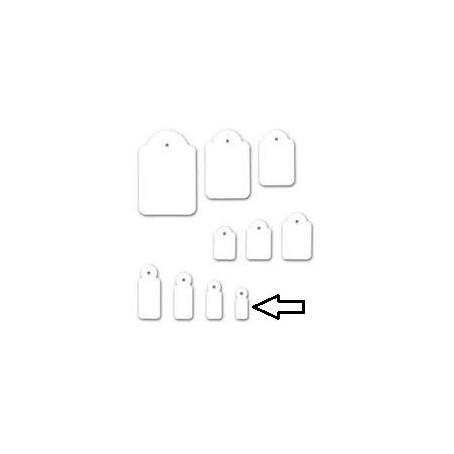 Etichette con filo 7x19 - 100 pezzi