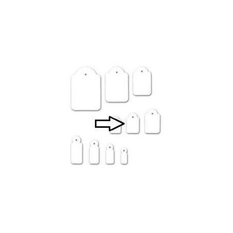 Etichette con filo 14x22 - 100 pezzi
